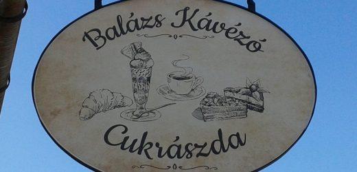 Balázs Kávézó, Cukrászda Kisvendéglő