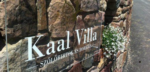 Kaal Villa Szőlőbirtok és Borház