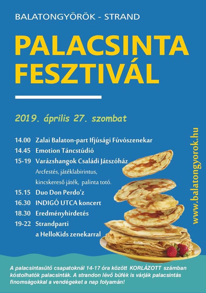 Balatongyöröki Palacsintafesztivál