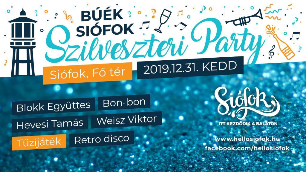 BÚÉK Siófok Szilveszteri Party