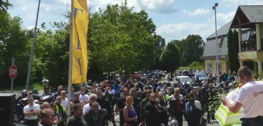 Motoros teljesítménytúra a Balaton nyugati csücskében