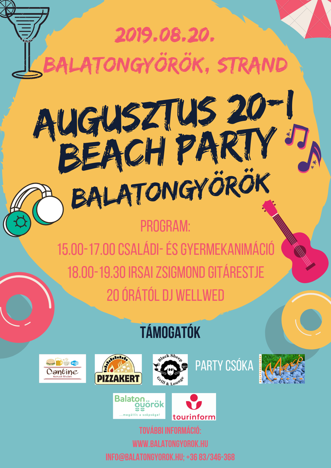 Beach Party Balatongyörökön