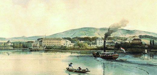 A Balaton első gőzhajójának története