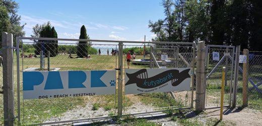 Május 15-én nyit a keszthelyi Kutyás Park