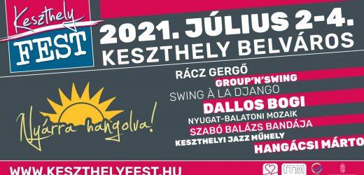 KeszthelyFest – Július 2-4.
