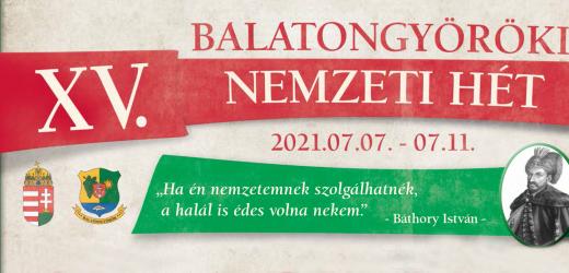 Nemzeti Hét – Balatongyörök