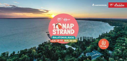 Marad a Balaton déli partján a Strand Fesztivál