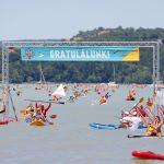 3000-en evezték át hétvégén a Balatont